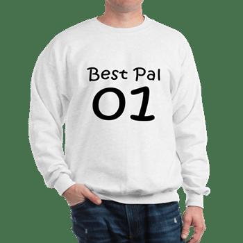 Bff Shirts For 3 - Best pal 01 Sweatshirt