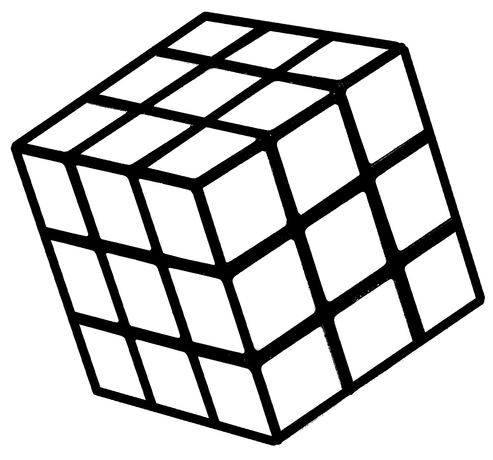 Rubiks Cube Stencil