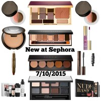 New Released Makeup at Sephora Week of 7/10/15