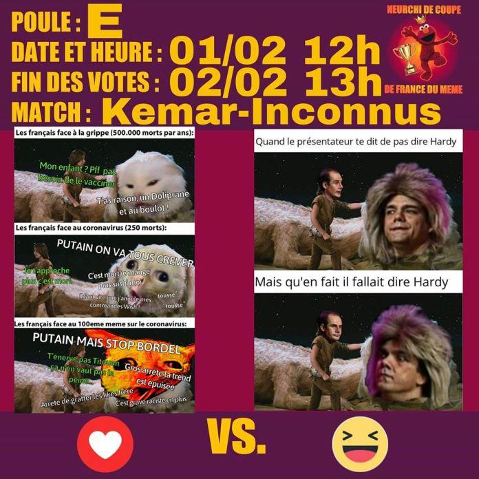 Kemar Match 3 Kemar vs Inconnus