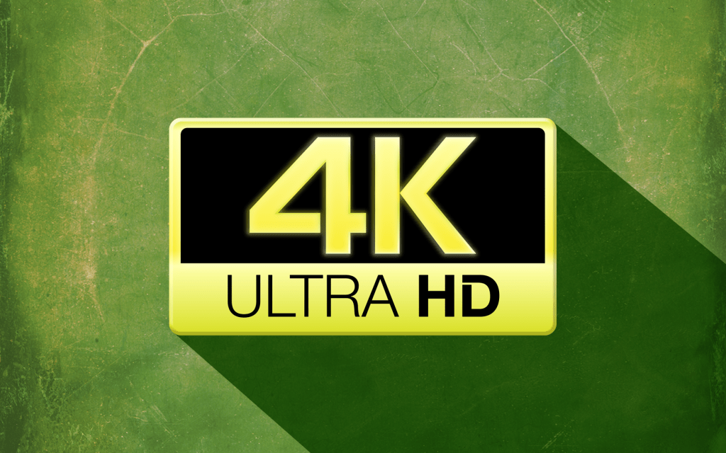 Now shooting in 4K UHD