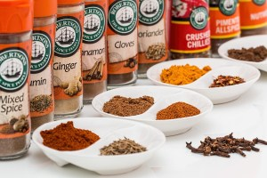 Stash of spices