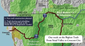 One week on the Bigfoot Trail
