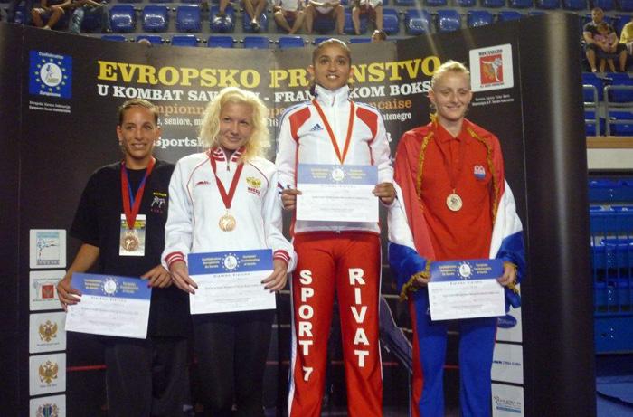 Championnat d'Europe de boxe français au Montenegro