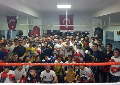 Formation des entraîneurs et boxeurs à Istanbul