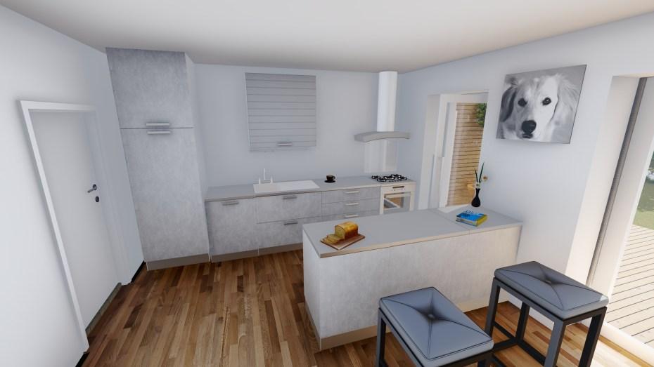 BG-Projektentwicklung | Planungsbeispiel | Küche