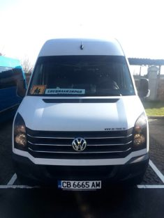 VW crafter 19+1 seats