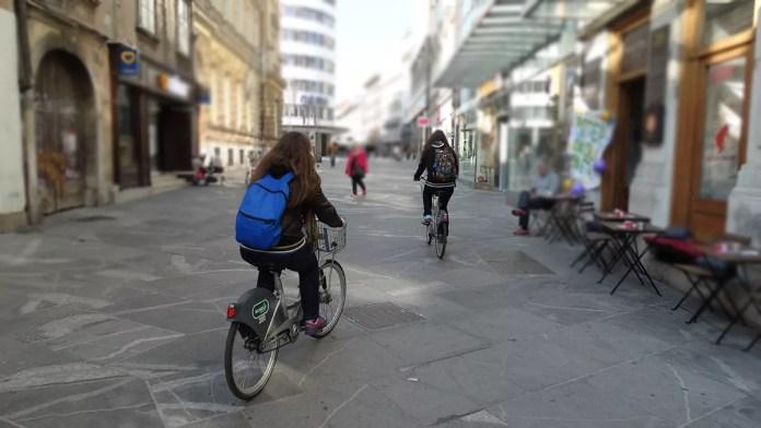 Да-караш-колело-в-Любляна