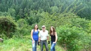 Нина Ели и Христо в село Косово