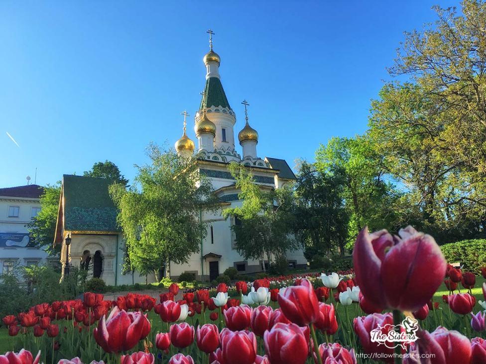 Руската-църква-в-София-през-пролетта