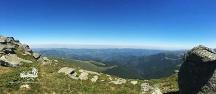 Панорама от билото на Стара Планина