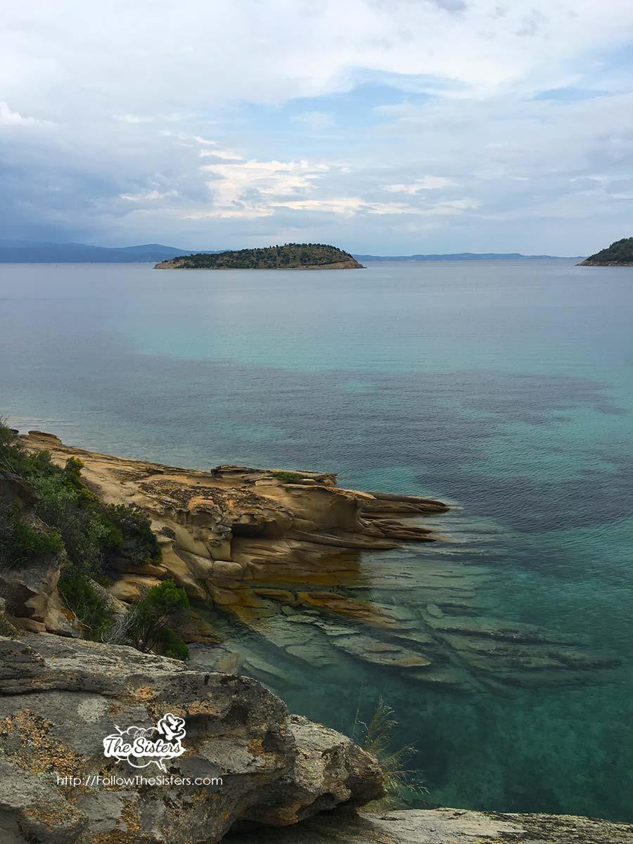 Каменния плаж на Талго
