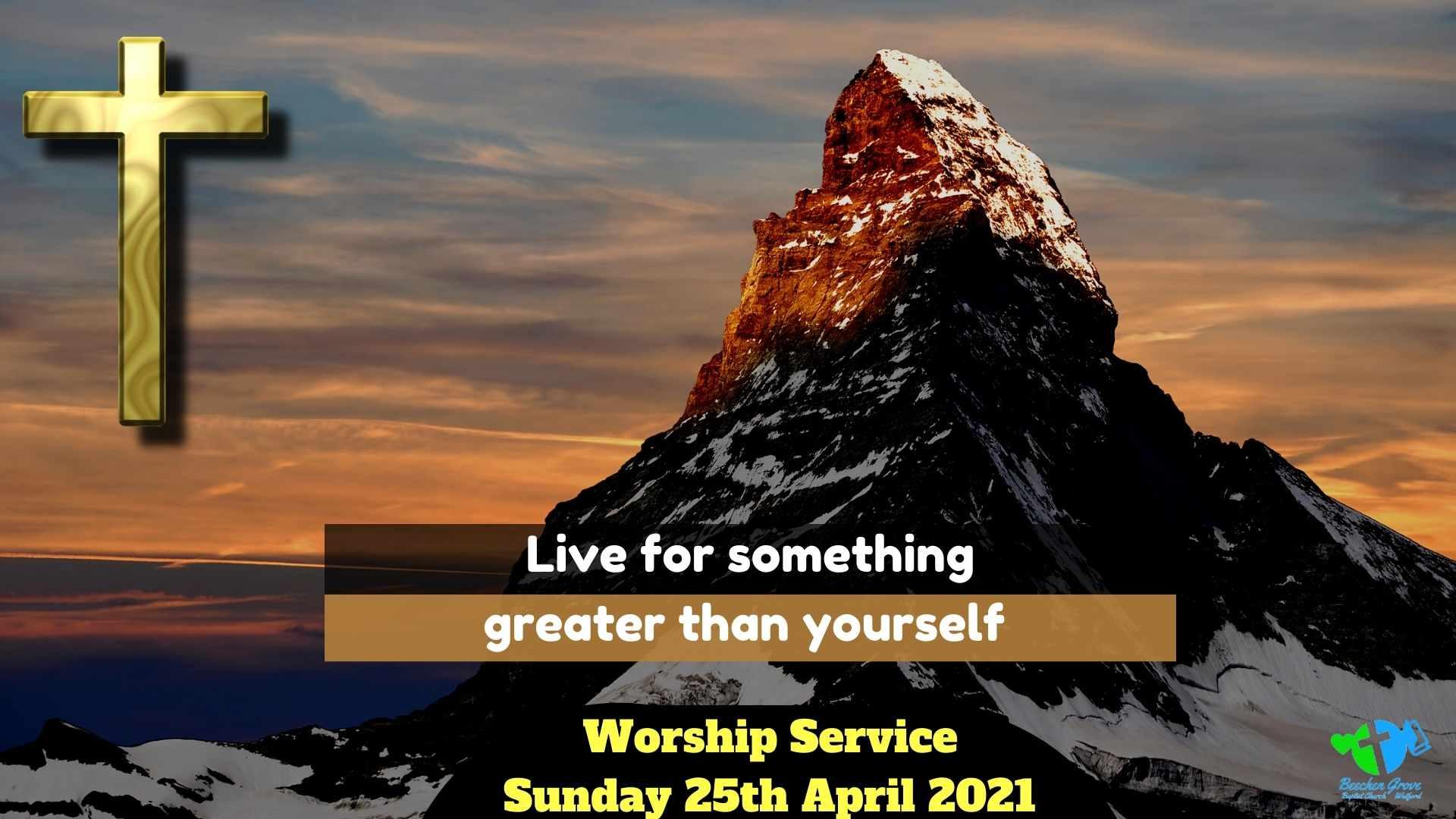Worship Service 25th April