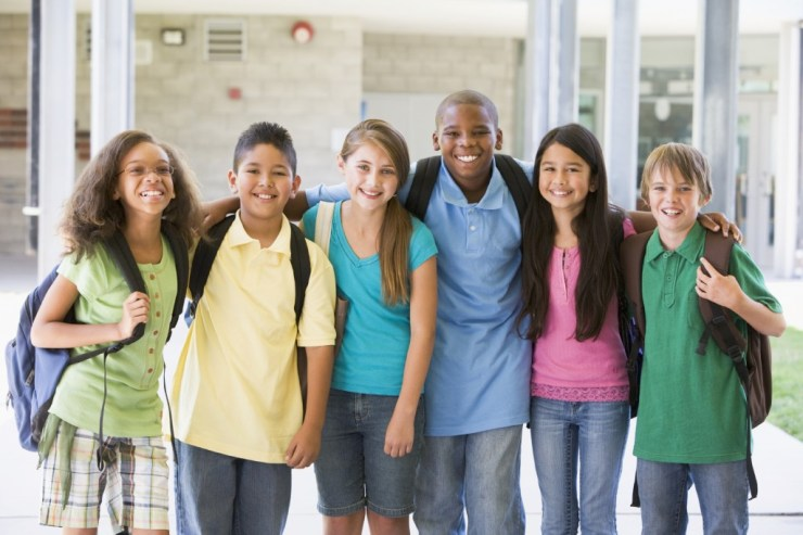 group of kids at school- Billy Graham Daily Devotion 18th May 2018 - Love Covers