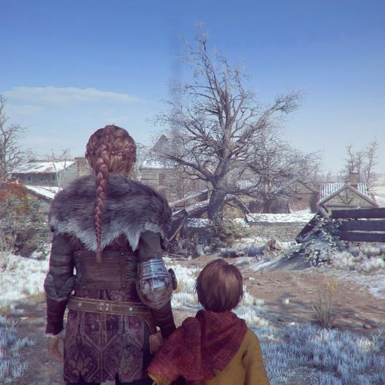 A Plague Tale Innocence Xbox Series X updated graphics of the environment