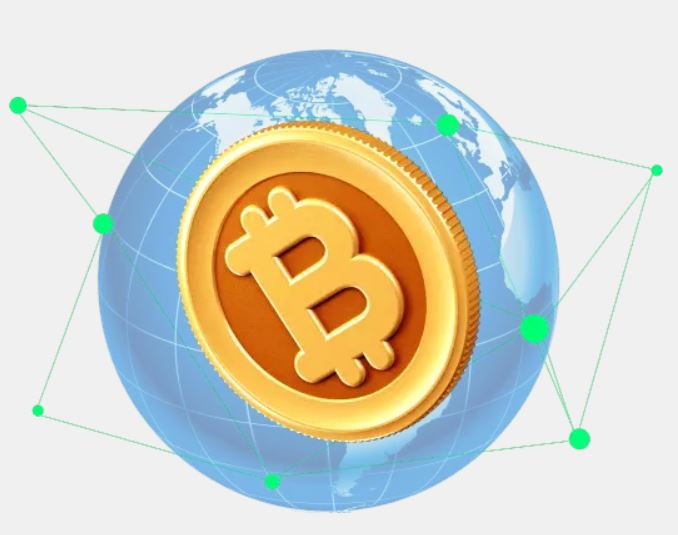 Bitcoin distribution coin and address