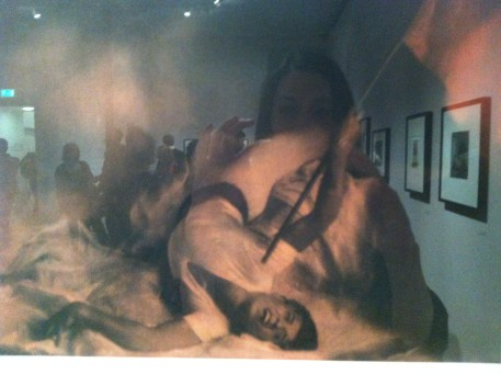 Vasily Ulitin, Flame of Paris, 1932, Bromoil print