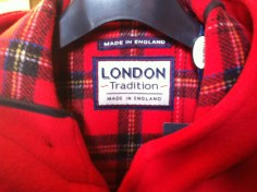 London Tradition (londontradition.com), specialising in pea coats, duffle coats, quilts and raincoats was awarded the Queens Award for International Trade, the highest accolade for a British business in April 2014.