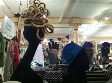All Jess Collett (jesscollettmilliner.com) pieces are individually crafted and handmade in Notting Hill in London.