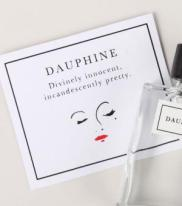 Daupine, Goest Perfumes. Divinely innocent, incandescently pretty. Inspired by the redolent imageries of Sophia Coppola's film 'Marie Antoinette', Dauphine is a clean, ideal, fresh skin scent, pink and cream and white all over. This scent has notes of pink, full blown rose; milky, fresh, sweet almond; and a reveille of innocent, airy musks. This scent is sweet, but not in a lurid, hard-candy-way; it's sweet like fresh, cream-filled, rosewater-scented pastries. Innocent, but not immature; quiet, never cloying: this charming and refined scent is superlatively, incandescently, and, quite simply, very, very pretty. Notes includeMuscs, Almond, Roses, Cream.