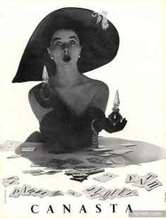 Canasta, Les Parfums de Jacques Fath, Arik Népo, 1951