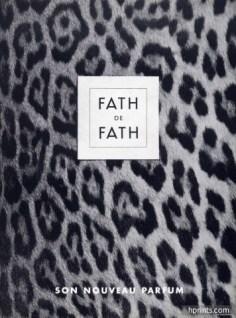 Fath de Fath, Les Parfums de Jacques Fath, 1953