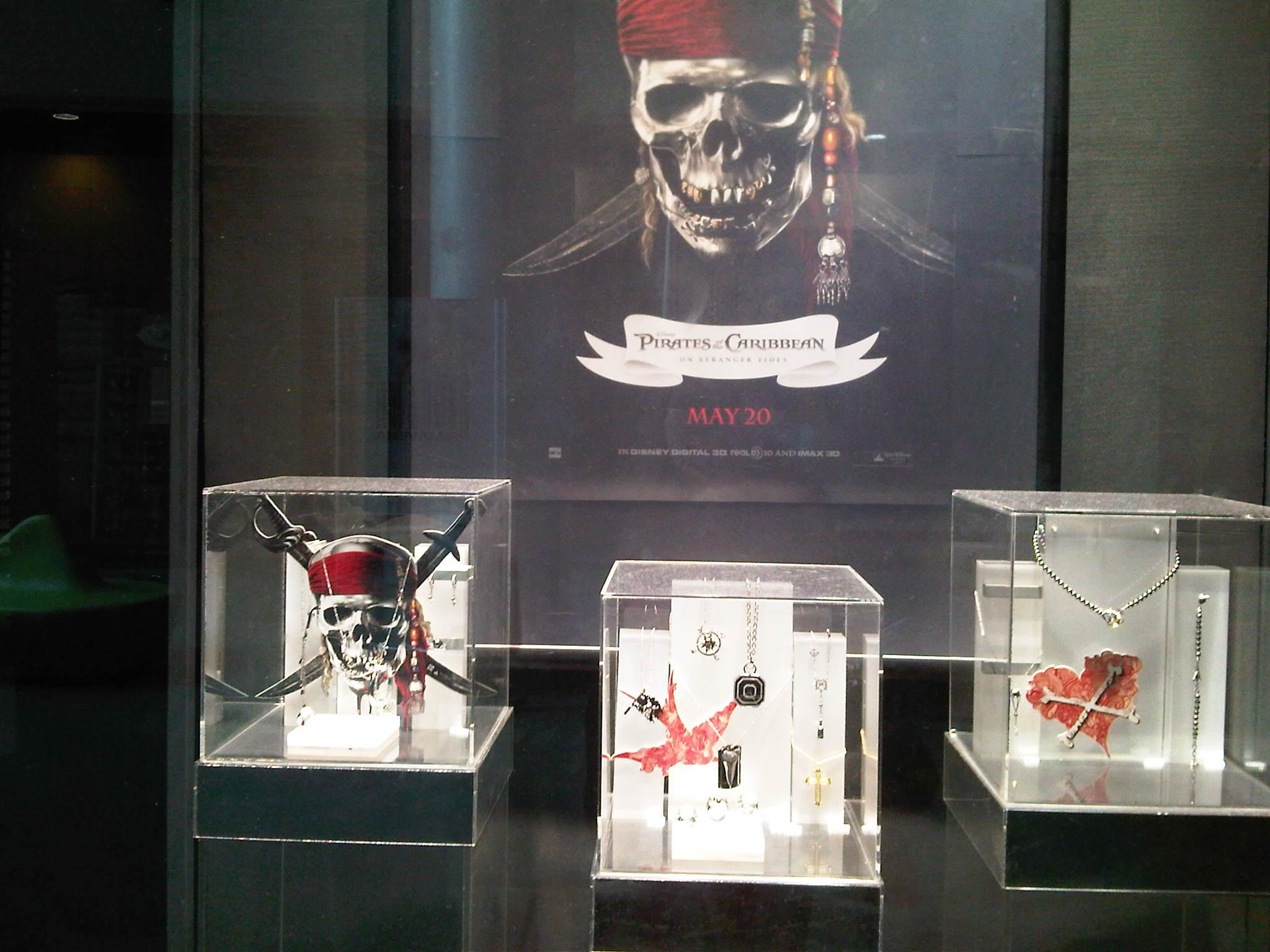 Swarovski lanza una colección de Piratas del Caribe