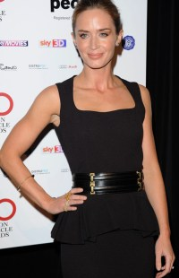 Emily Blunt en los London Critics Circle Awards 2013