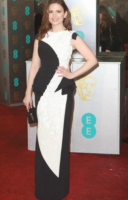 Hayley Atwell en los Premios BAFTA 2013