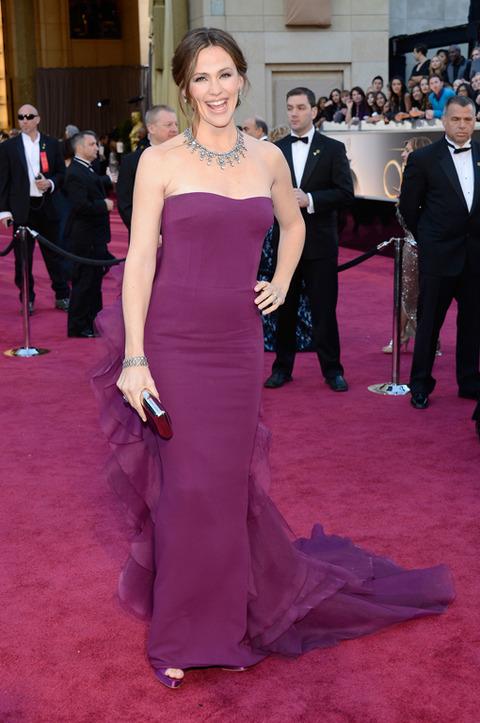 Jennifer Garner en la alfombra roja de los Premios Oscar 2013