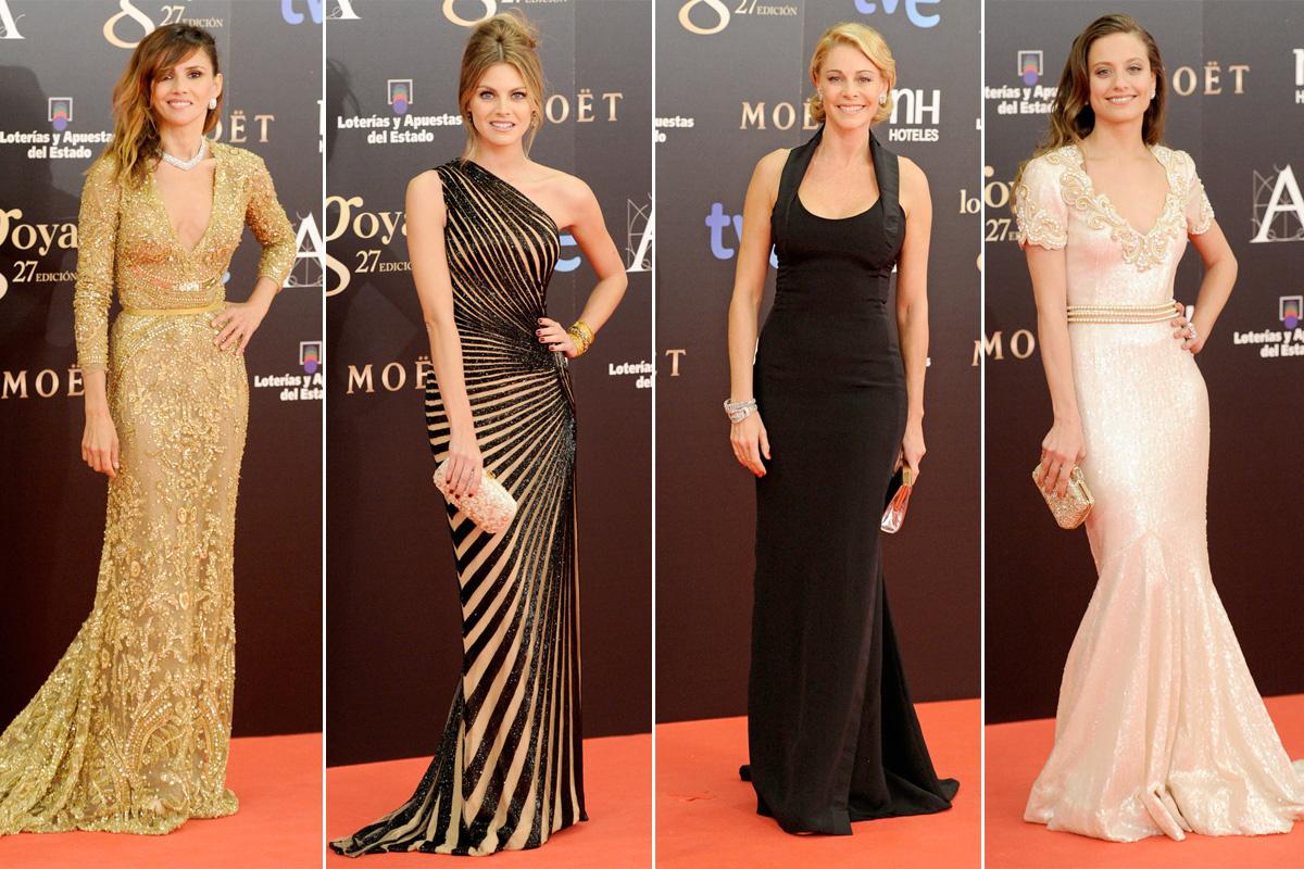 Los vestidos que pudieron verse en la ceremonia de entrega de los Premios Goya 2013