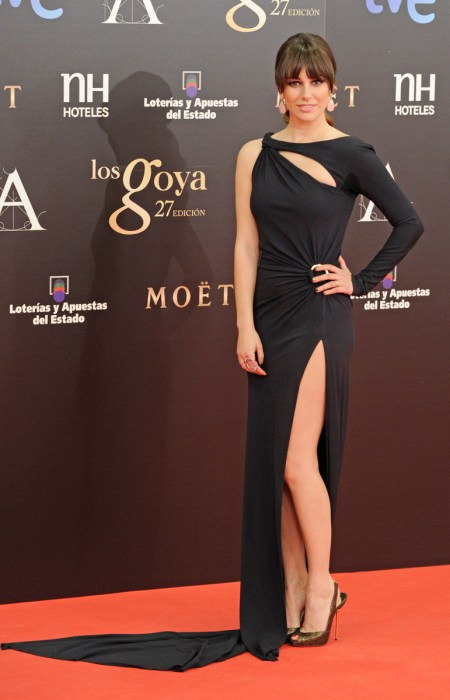 Blanca Suárez en Los Goya 2013
