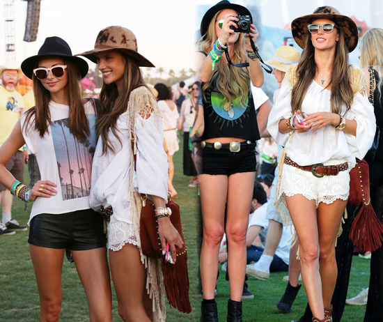 Los famosos en el Festival Coachella 2013 [día #1]