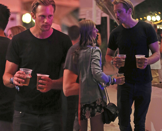 Alexander Skarsgard en Coachella 2013
