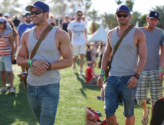Kellan Lutz en Coachella 2013