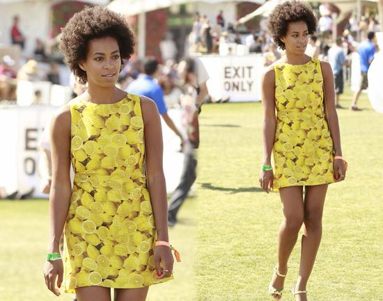Julianne Gough en Coachella 2013