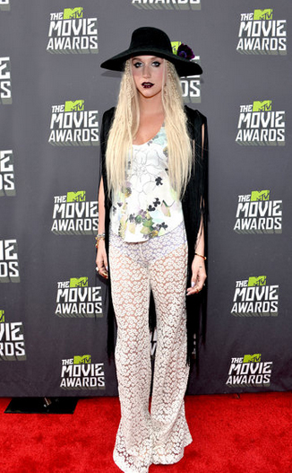 Kesha en los MTV Movie Awards 2013