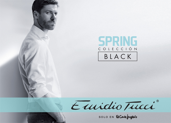 Xabi Alonso repite como imagen de la campaña primaveral de Emidio Tucci