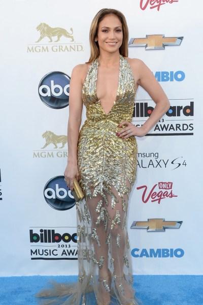 Jennifer Lopez en los Premios Billboard 2013
