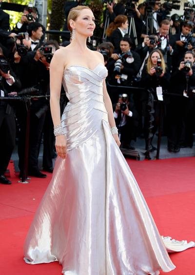 Uma Thurman en Cannes 2013
