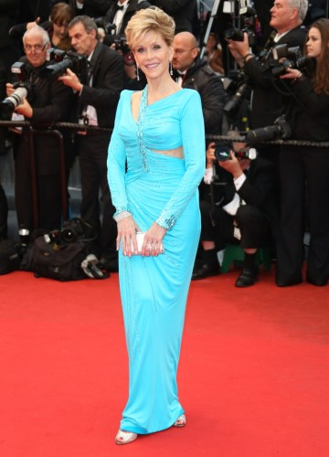 Jane Fonda en Cannes 2013