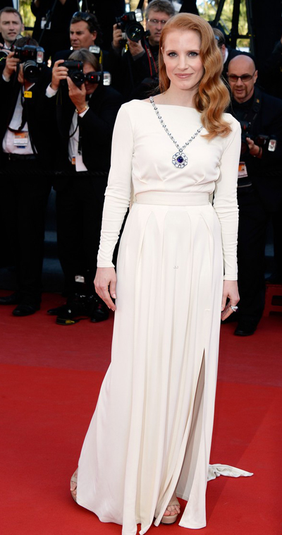 Jessica Chastain en Cannes 2013