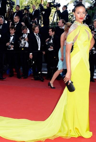 Selita Banks en Cannes 2013