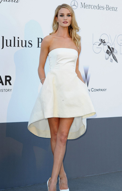 Rosie Huntington-Whiteley en Cannes 2013