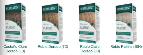 Variedad de Farmatint Rubios