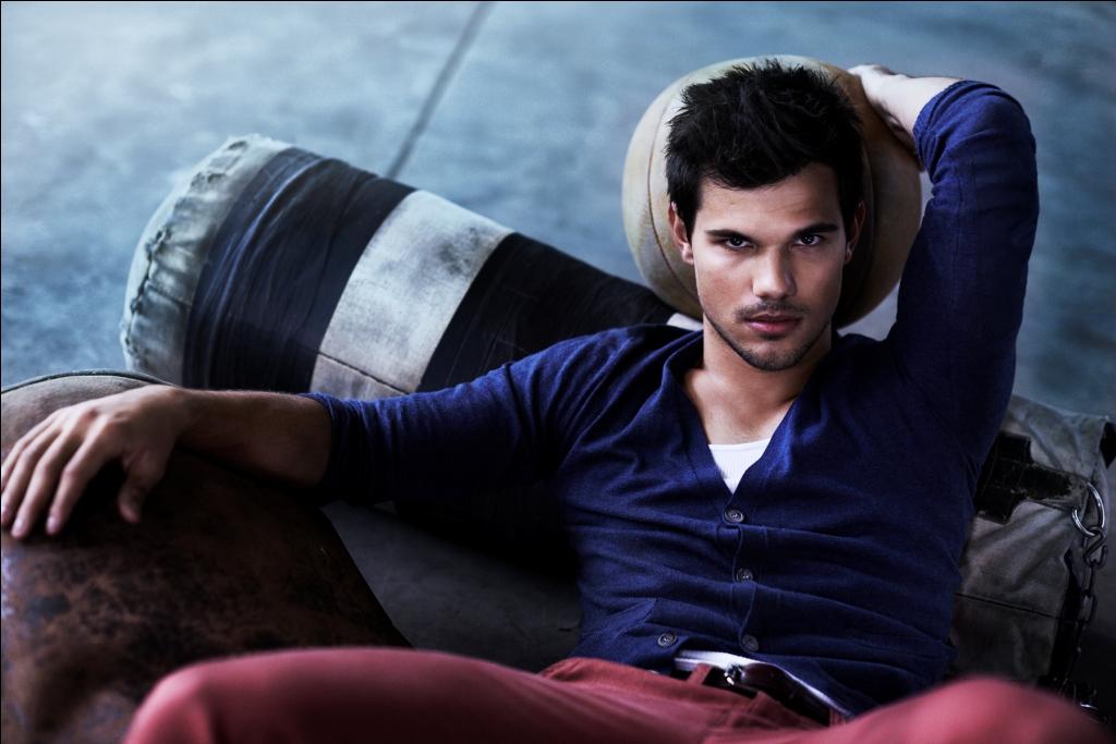 Taylor Lautner se convierte en imagen de Bench