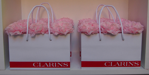 Flores de Clarins en la Beauty Party
