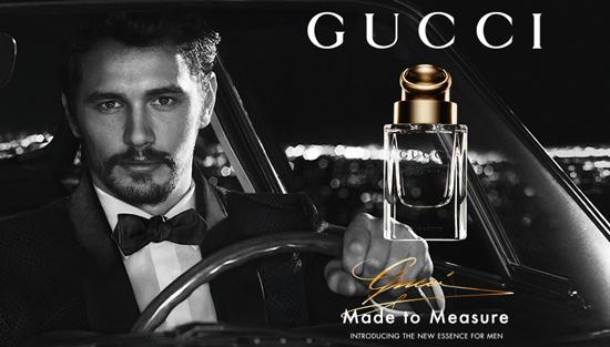 James Franco imagen masculina de Gucci Made to Measure