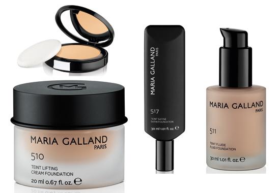 Línea de maquillaje de María Galland