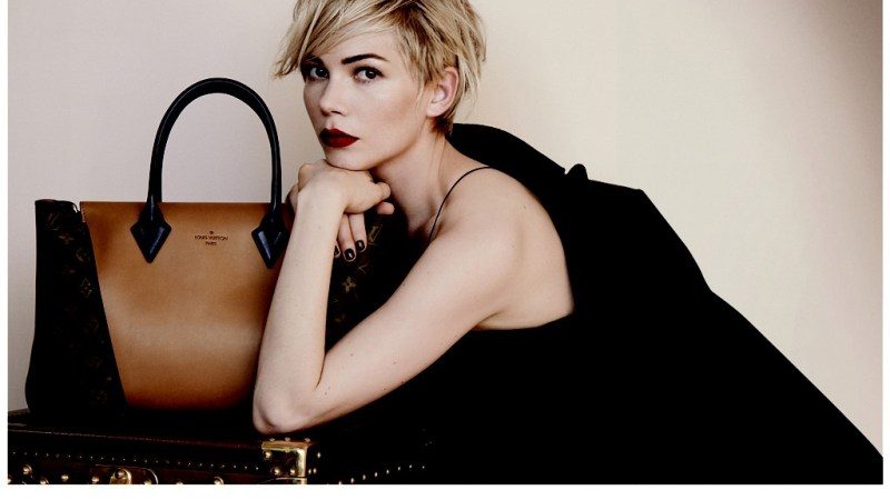 Michelle Williams se convierte en imagen de Louis Vuitton